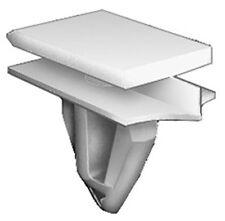 GM White Nylon Rocker Moulding Clips Grand Prix (GM # 10323057)