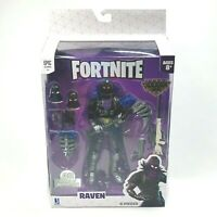 Fortnite Legendary Series Raven 8 Piece Action Figure Epic Games New Fast Ship