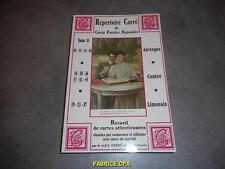 REPERTOIRE CARRE DE CARTES POSTALES REGIONALES TOME 2  CPA NEUF