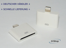 Lightning Adapter 8 auf 30-Polig für Apple iPhone 7 6 s 5  iPad iPhone 4 weiss