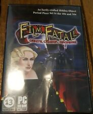 Film Fatale Lights, Camera, Madness For PC CD-ROM