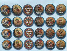 Fuera de imprenta advanced heroquest conjunto completo de Dungeon contadores Hero Quest