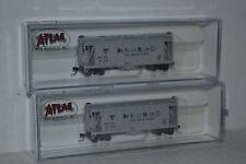 2 Atlas WM Kelly Milling Co. GATX Airslide Hopper N Scale