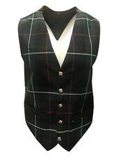Mens Mackenzie Tartan Waistcoat Available In Various Sizes