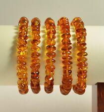 baroque cognac adult 36 g Ta-2053 Lot 5 wholesale Baltic amber bracelet -