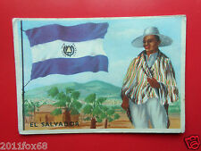figurines picture cards figurine sidam gli stati del mondo 93 el salvador flags