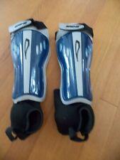 Brine 2 + 2 Titanium soccer shinguards Adult New w/detachable ankle supports