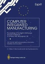 Computer Integrated Manufacturing by W. van Puymbroeck, P. MacConaill and C....