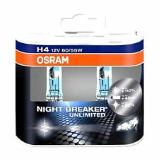 OSRAM h4 NIGHT BREAKER NIGHTBREAKER unlimited DUO - +110% 12v 60/55w 64193 + top +