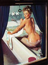 "Vintage Gil Elvgren Pinup Girl poster 17"" x 13"" Decor 08"