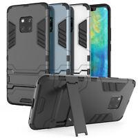 Huawei Mate 20 Pro Beste Schutz Hülle Heavy Duty Armour Robust Stand Handy Case