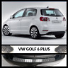 VW Golf MK6 VI Plus 2008-2014 Chrome Rear Bumper Protector Scratch Guard S.Steel