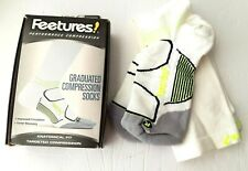 Feetures Graduated Performance Compression Socks Full Calf Knee high L large