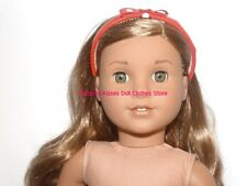 Red Bow Headband 18 in Doll Clothes Hair Accessory Fits American Girl Dolls #Q