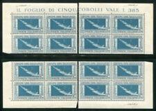 Francobolli italiani foglio di qualità nuovo non linguellato