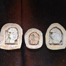 3 x latex fairy door moulds