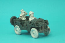 1st Corps 28mm WW2 Helmeted British Airborne Airlanded  Radio Jeep.Jeep14  .