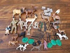 Plastic Toy Animal Hunting Lot