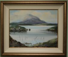 Irish Art Original Oil Painting on Canvas DONEGAL Irish Artist ANNE TALLENTIRE