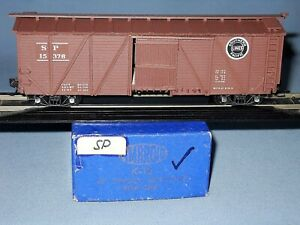 6145_AMBROID HO SCALE SOUTHERN PACIFIC SINGLE SHEATH OB BOXCAR BUILT CRAFTSMAN K