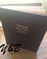 COMPLETE SET  KENNEDY HALF DOLLAR 1964-2013 + 2014 PD in DANSCO proof Album