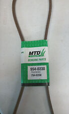 Original MTD Genuine Belt 9540230 954-0230 7540230 754-0230 1/2 X 56""