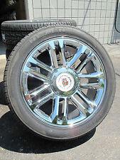 "22"" New Escalade Platinum Factory Style Chrome Wheels 305-40-22 Tires 5358 0901"