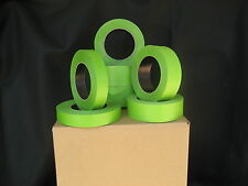 """48 Rolls1""""X 60 Yrds Green Painters Masking Tape QUICK SHIP. USA Made. BLEMS"""