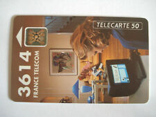 PHONECARD TELECARTE PUBLICITE 3614 MINITEL FRANCE TELECOM