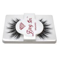 5X(DINGSEN Natural Thick Eye Lashes Makeup False Fake Eyelashes Extension S A7E8