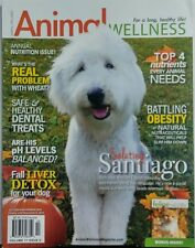 Animal Wellness Oct Nov 2015 Santiago Old English Sheepdog FREE SHIPPING sb