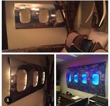 Airplane Window fuselage art