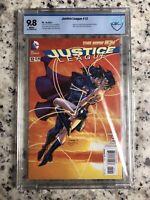 Justice League #12 NEW52 1ST Print 2012 CBCS 9.8 NM/MT Wonder Woman THE KISS Hot