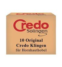 Credo Solingen Original Corn Cutter Replacement Blades Box of 10