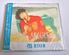 BTOB Natsuiro My Girl Japan Press CD Member Version - Minhyuk Sealed K-Pop