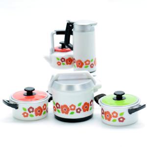 Blind Box 1:6 Dollhouse Miniature Retro Tea Pitcher Pot 1 Random Toy
