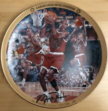 1996 Michael Jordan Chicago Bulls �Career High 69 In Overtime� Porcelain Plate