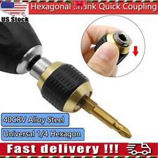 Hexagonal Shank Quick Coupling Hex Change Chuck Driver Bit Holder Chuck Drill