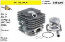 227514 CILINDRO E PISTONE MOTOSEGA McCULLOCH PM 54 55 MAC 960 54cc Ø 45 mm