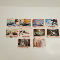 Lot of 10 Cards 1980 Topps Star Wars THE EMPIRE STRIKES BACK Series 1 #40-49