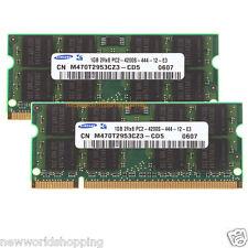 #NW 2GB 2X 1GB 1G DDR2 533Mhz PC2-4200S 200pin SO-DIMM Laptop RAM Memory PC4200