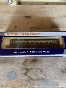 Dapol n gauge Coach GWR Hawksworth Third 1086 Pre Owned