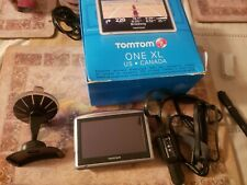 "NEW TomTom ONE XL Portable Car 4.3"" LCD GPS System US/Canada MAPS navigator tom"