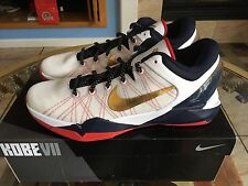 Nike Kobe Vii System size 13 Gold Medal Olympic 488371-104 Metallic Gold HOH