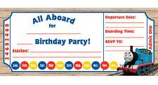 Thomas the Train  Kids Boys Birthday Party Invitations 10PCS #1