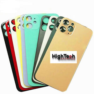 Big Hole Cam Back Glass Back Door For iPhone X XS MAX XR 11 Pro Max