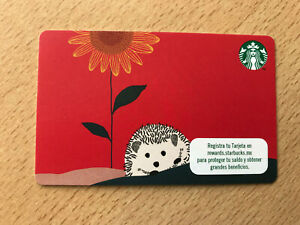 starbucks Mexico gift card - Hedgehog