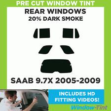 Pre Cut Window Tint - SAAB 9.7X 2005-2009 - 20% Dark Rear