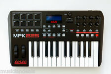 Akai MPK225 25-Key USB MIDI Keyboard & Pad Controller NEW