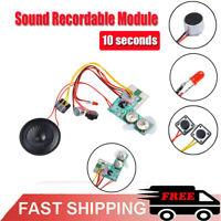 10secs 10s Sound Voice Audio Recordable Recorder Module Chip for Greeting Card
